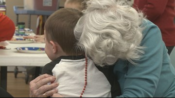 Christmas brings 'honorary grandparents' and children together