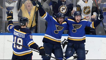Blues advance to face Bruins; UMaine's Nyquist denied a crack at the Cup