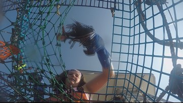 11-year-old girl lobstering her way through summer