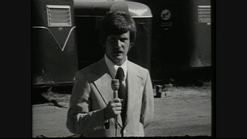 Bill Green's first stand-up in 1975