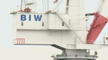 BIW may get contract due to hurricane damage at competing shipyard
