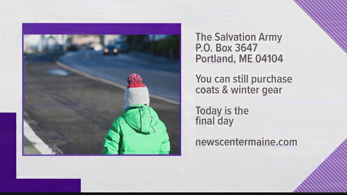 The final day for the 2020 Coats And Toys For Kids campaign