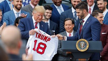 Red Sox reactions to White House visit run the gamut from smiles to snubs