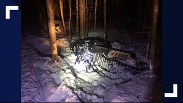 At least five injured in snowmobile crashes last weekend
