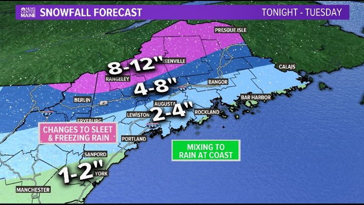 Messy Tuesday storm will have ice, and it won't be nice...
