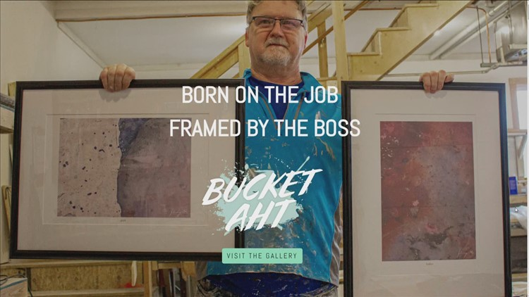 Maine house painter goes viral with creative art