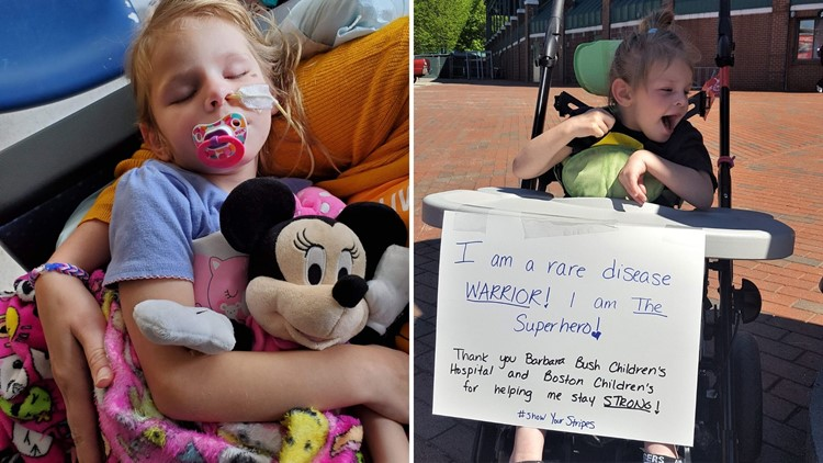 5-year-old Maine girl with a rare disorder is only one of 19 in world who has it