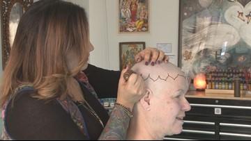 Henna tattoos help make baldness beautiful   newscentermaine com