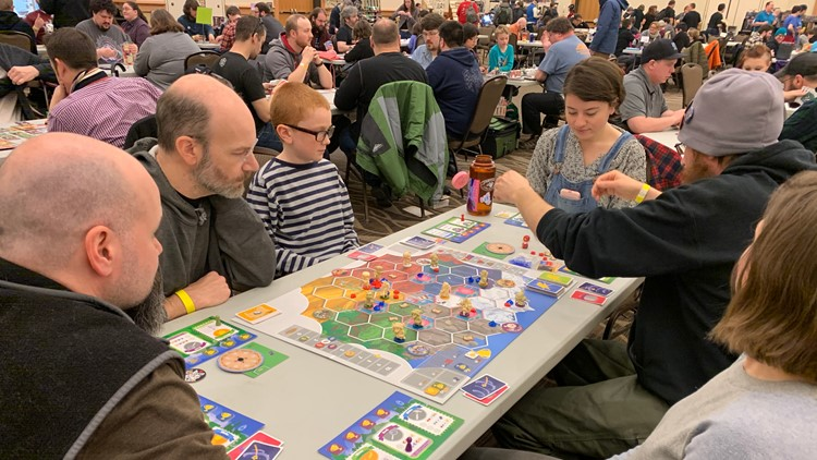 Boardgame fun returns to Maine for the 12th year