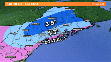 Snow returns to Maine Friday morning   Breton Blog