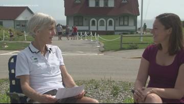 Samuelson talks about Beach to Beacon