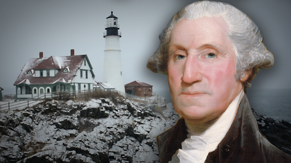 On Presidents' Day, Maine remembers Washington for commissioning Portland Head Light