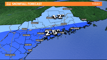 Slick commute Thursday morning, Arctic air to end the week