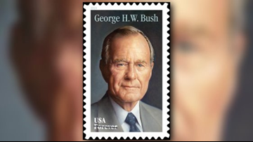George H.W. Bush USPS 'forever' stamp to be issued June 12
