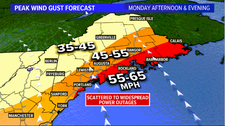 Forecast Gust Map
