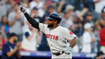 JBJ blasts the longest of three Red Sox moonshots at the launch pad in Denver