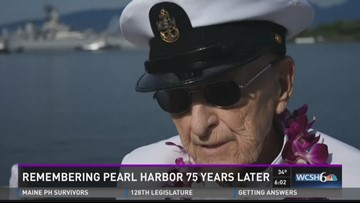 Robert Coles returns to Pearl Harbor 75 years later