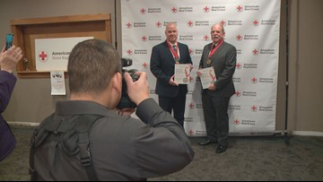 Red Cross celebrates local  heroes