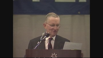 Ross Perot visited Maine after the 1992 race