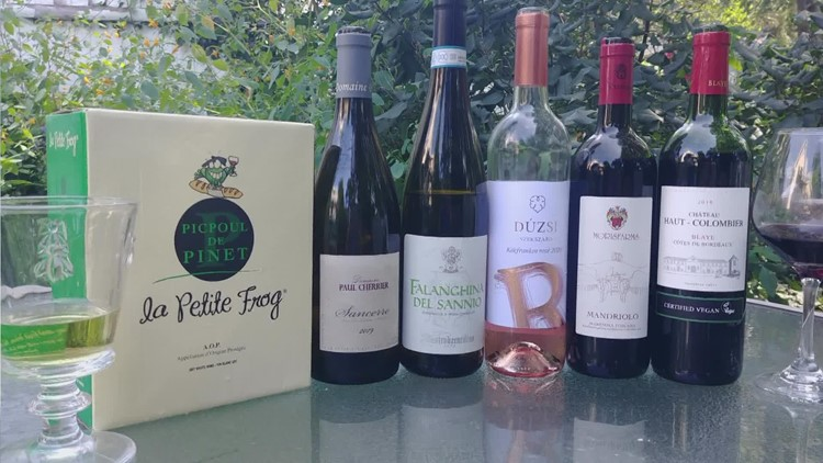 Labor Day wines that are perfect for soaking up the last days of summer.