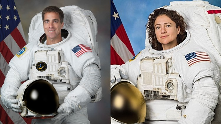 Two Maine astronauts are in space at the same time