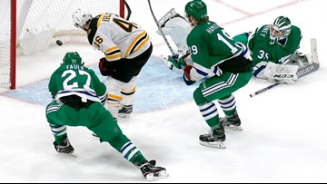Bruins OT Heroes: DeBrusk steals the puck and Krejci seals the win