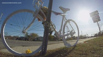 One family honors their lost with Ghost Bikes