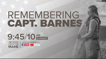 Capt. Barnes funeral: Broadcast coverage