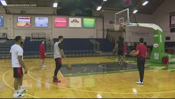 Practice keeps the Red Claws sharp before the home opener