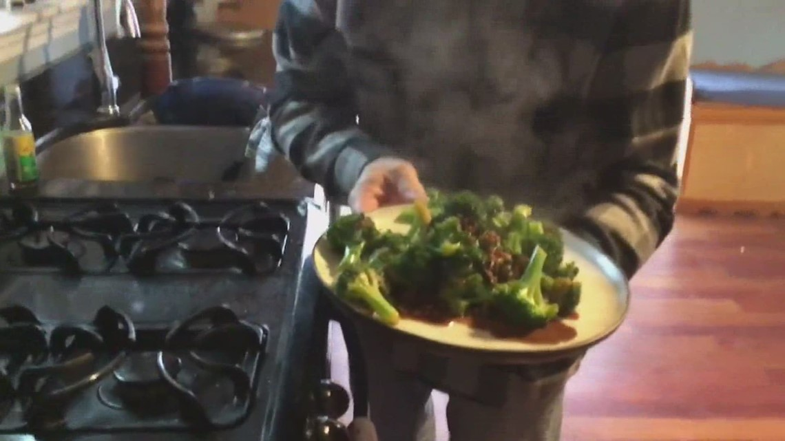 Harraseeket Inn's Chef Bo Byrne's got a quick side dish with broccoli