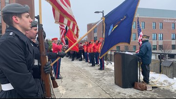 Pearl Harbor Remembrance Day commemorated in Bangor