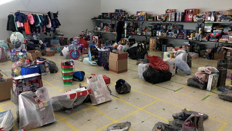 Salvation Army collects toys for kids