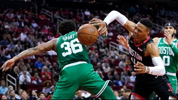 The more the Celtics fouled the Rockets, the worse they hurt themselves