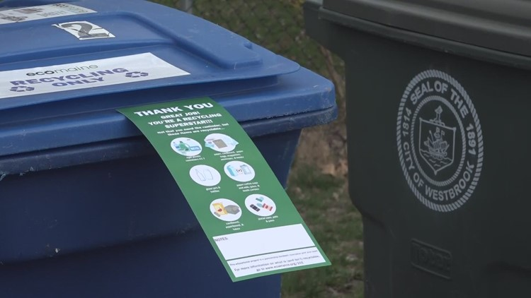 ecomaine interns educate community about recycling