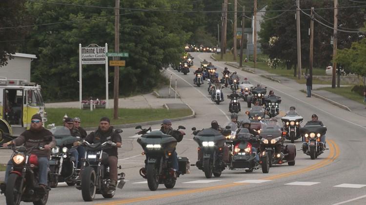 Hundreds ride to raise suicide awareness