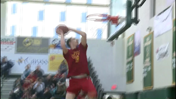 Nick Mayo 2015 Maine dunk contest