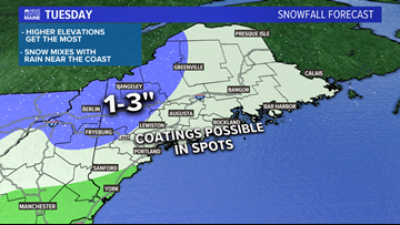 Spring snow? It's possible Tuesday | Breton Blog