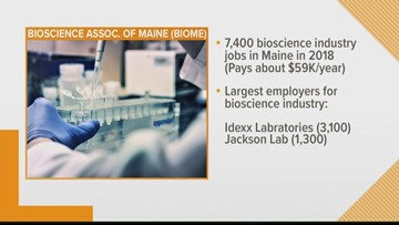 Biological sciences on the rise in Maine
