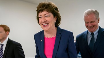 Poll shows Collins drops 16 points in approval, King ranked most popular Senator
