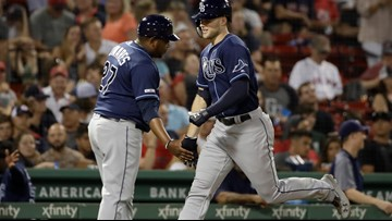Rays sweep dims Red Sox pennant dreams