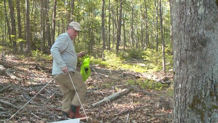Gordon Johnson Citizen Scientist, Maine Forest Tick Survey Volunteer