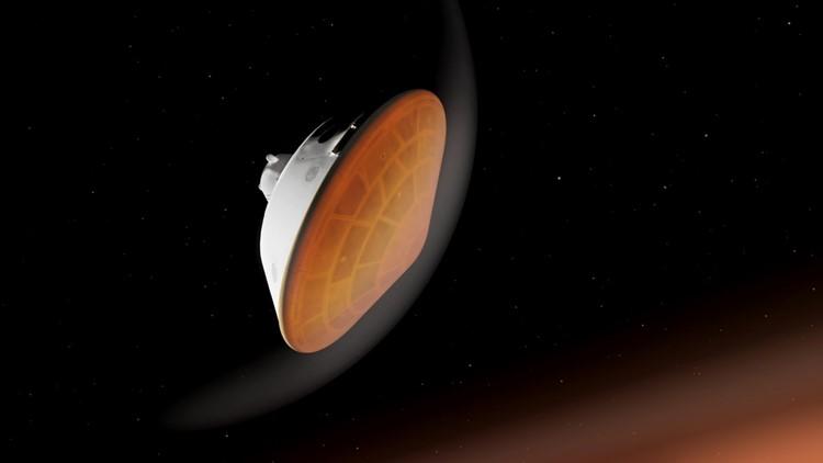 Maine company helps make Mars landing possible