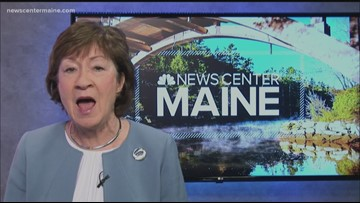 Senator Susan Collins discusses possible impeachment