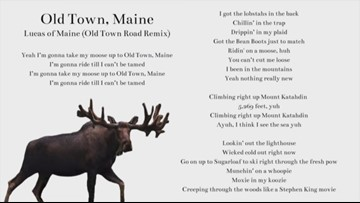 Maine man remixes the hit song 'Old Town Road'