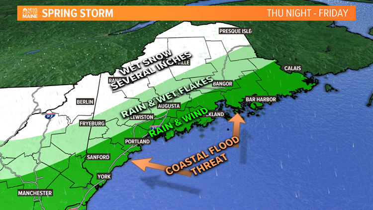 Spring storm expectations.