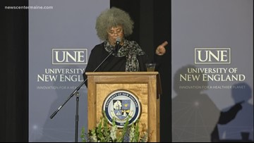 Angela Davis captivates audience at UNE