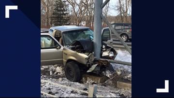 Crash in Brunswick seriously injures three