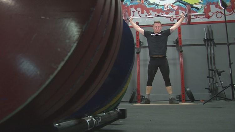 Jared Bornstein lifting.
