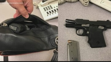 Minot woman caught with loaded gun at Portland Jetport