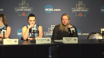 Women's basketball press conference